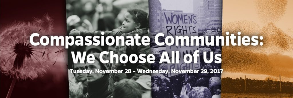 Compassionate Communities: We Choose All of Us Website Header