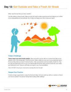 Radical Self Care Get Outside and Take a Fresh Air Break pdf image