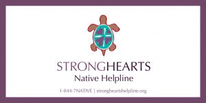 StrongHearts Native Helpline Image