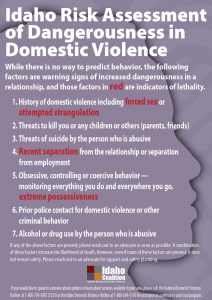 Domestic Violence Awareness Month IRAD Poster 2017