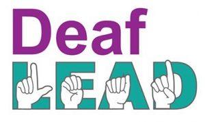 DeafLEAD logo