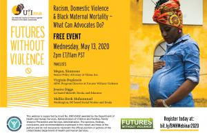 Black Maternal Mortality Webinar