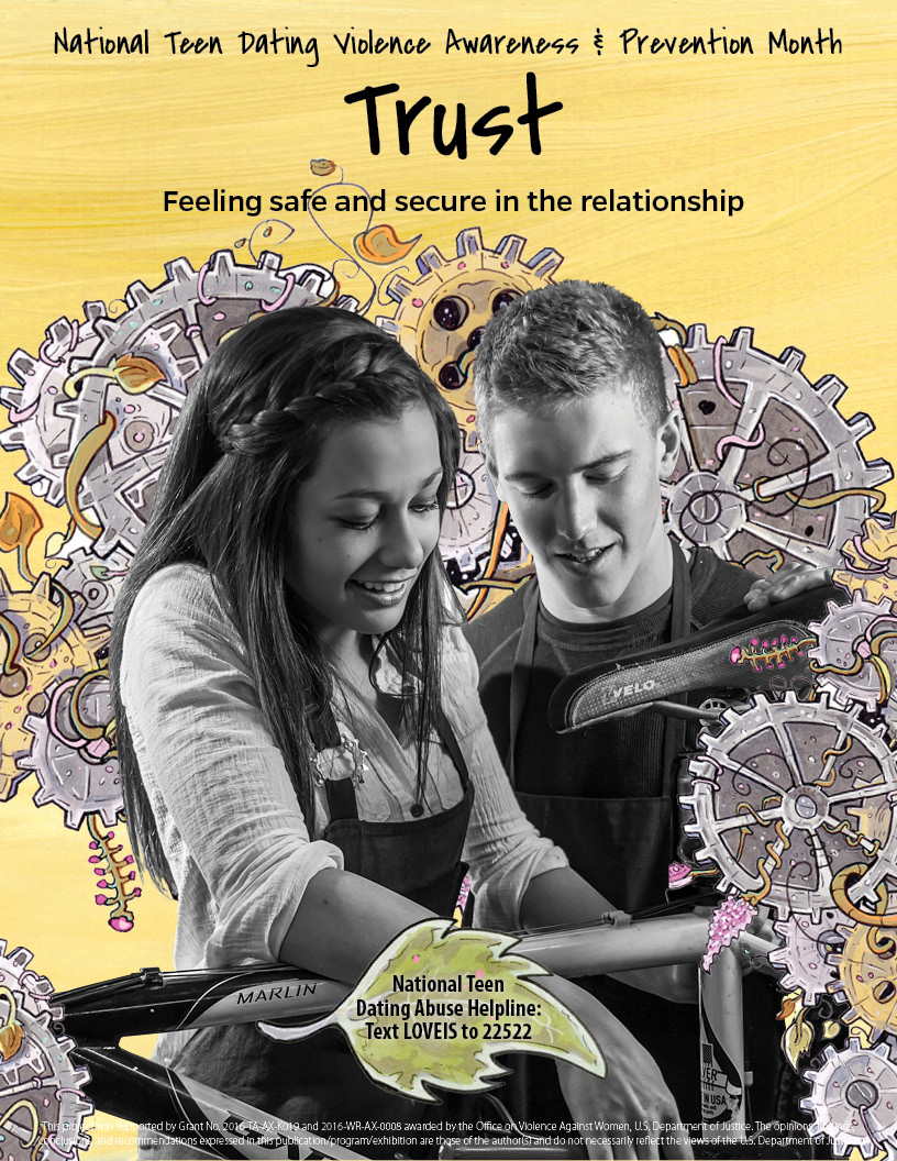 Trust - Feeling safe and secure in the relationship Poster